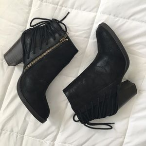 SM New York ankle booties with heels